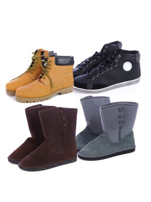 Shoes of mixed brands